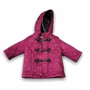 Burberry Baby's Quilted Hooded Jacket -  Size 9M